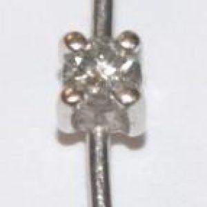 10kt White Gold Pendant